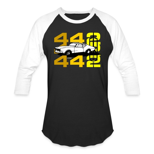 auto_oldsmobile_442_002a - Baseball T-Shirt
