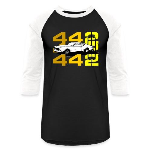 auto_oldsmobile_442_002a - Unisex Baseball T-Shirt