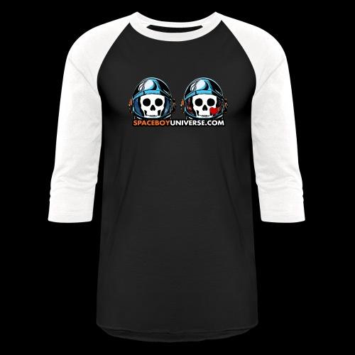 Spaceboy Universe Spaceboy and Surlana - Baseball T-Shirt