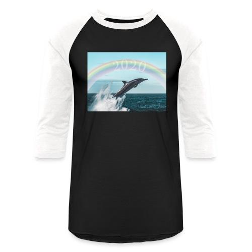 dolphin - Unisex Baseball T-Shirt