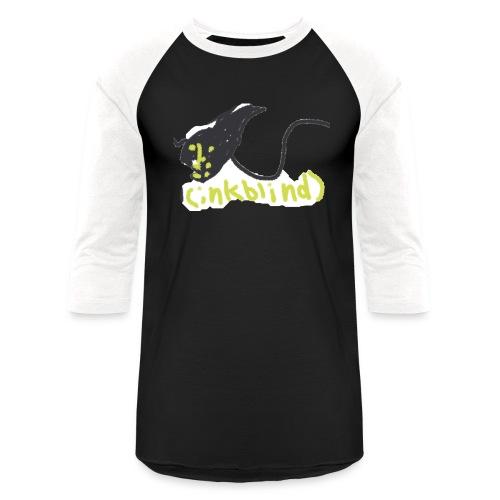 Kids funny monster ink - Unisex Baseball T-Shirt