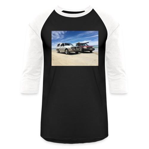 Subaru off roading - Unisex Baseball T-Shirt