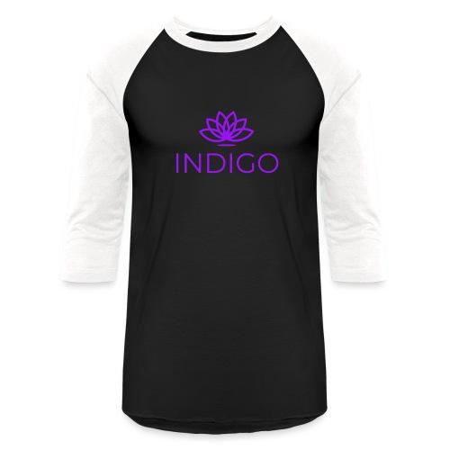 Purple Simple - Baseball T-Shirt