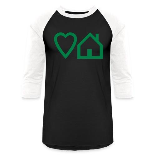 ts-3-love-house-music - Unisex Baseball T-Shirt
