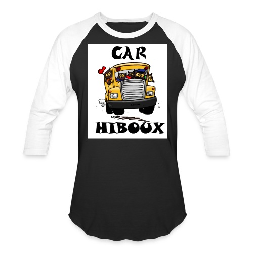 Car-Hibou - Unisex Baseball T-Shirt