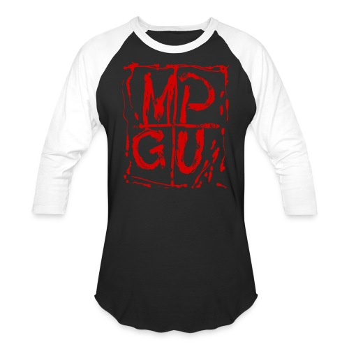 MPGU RED STROKE - Baseball T-Shirt