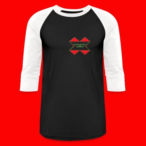 SANTA CLAUS IS THE MAN - Baseball T-Shirt
