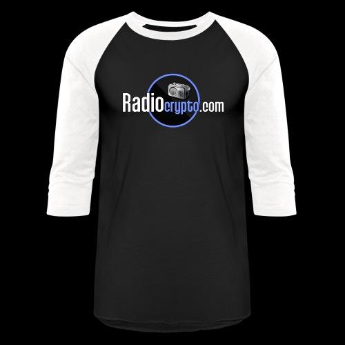 RadioCrypto Logo 1 - Unisex Baseball T-Shirt