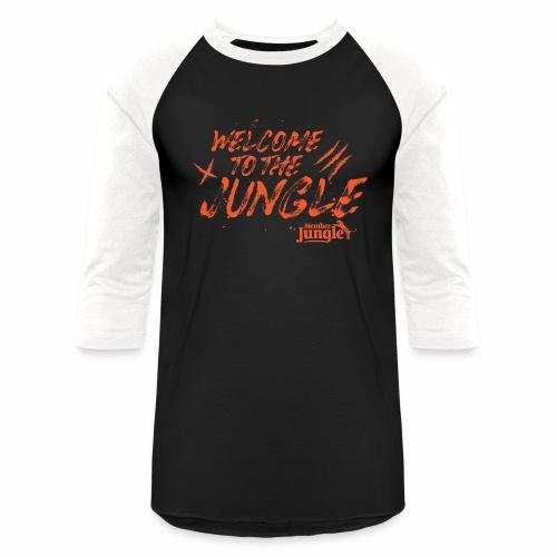 Welcome to the Member Jungle Orange - Baseball T-Shirt