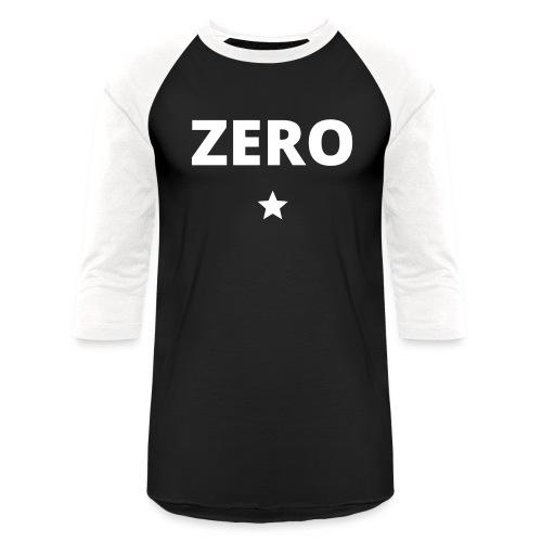 ZERO (star) - Unisex Baseball T-Shirt
