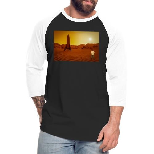 Going Into Space - Unisex Baseball T-Shirt