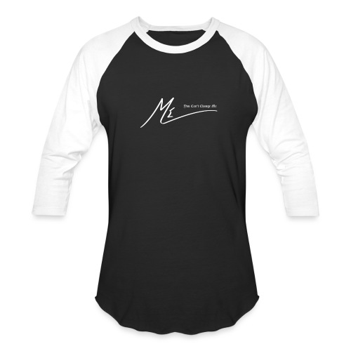 You Can't Change Me - The ME Brand - Unisex Baseball T-Shirt
