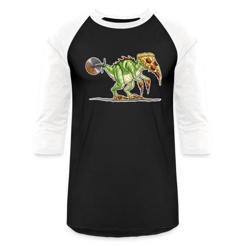 pizzasaurus - Unisex Baseball T-Shirt