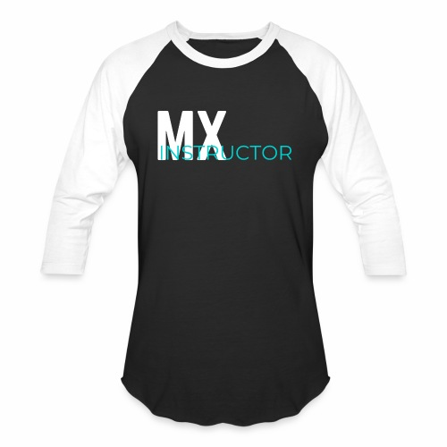 MX Gym Minimal Hat - Unisex Baseball T-Shirt