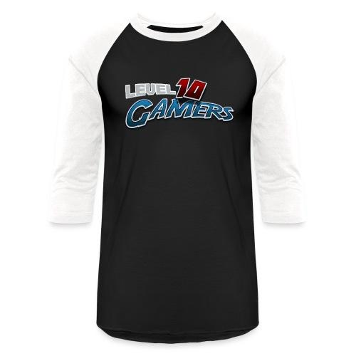 Level10Gamers Logo - Unisex Baseball T-Shirt