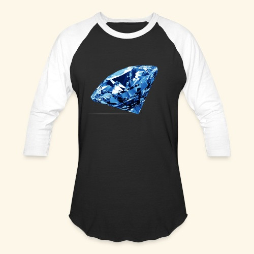 Blue Diamonds - Baseball T-Shirt