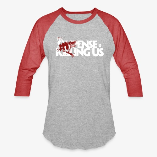 Suspense Is Killing Us Red Eye Logo - Baseball T-Shirt