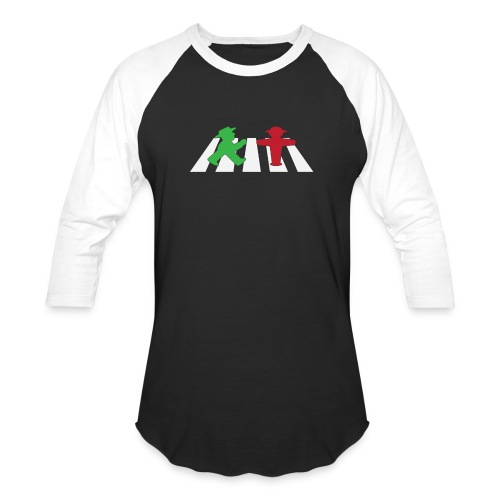 ampelmannchen on crosswalk - Baseball T-Shirt