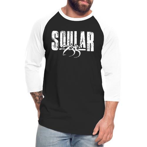 Soular235 White Logo - Unisex Baseball T-Shirt