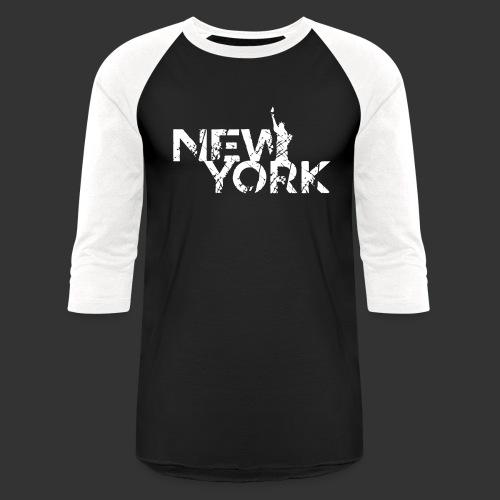 New York (Flexi Print) - Baseball T-Shirt
