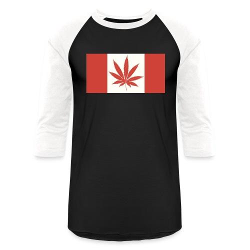Canada 420 - Baseball T-Shirt
