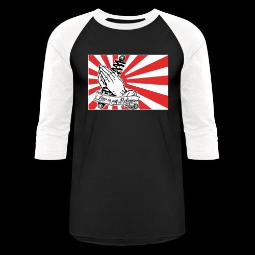 JDM-LowIsMyReligion - Unisex Baseball T-Shirt