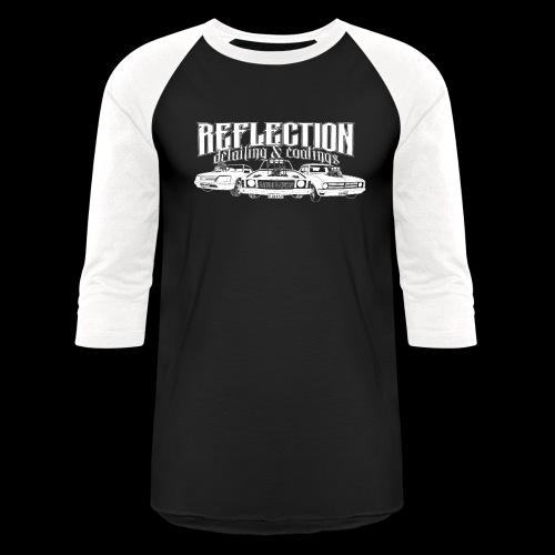 REFLECTION DETAILING & COATINGS Design - Unisex Baseball T-Shirt