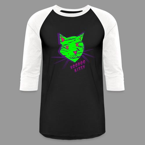 Voodoo Kitty - Baseball T-Shirt