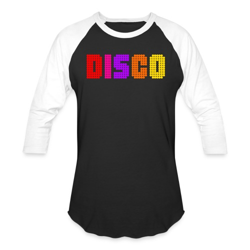 disco - Unisex Baseball T-Shirt