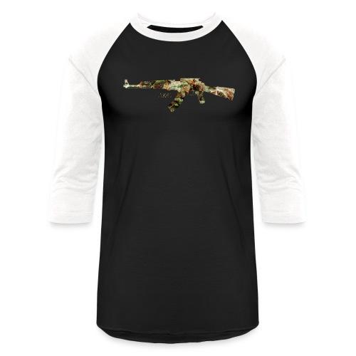 AK-47.png - Unisex Baseball T-Shirt