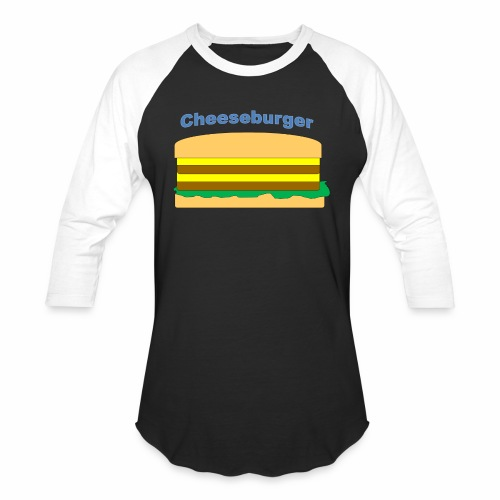 cheeseburger - Baseball T-Shirt