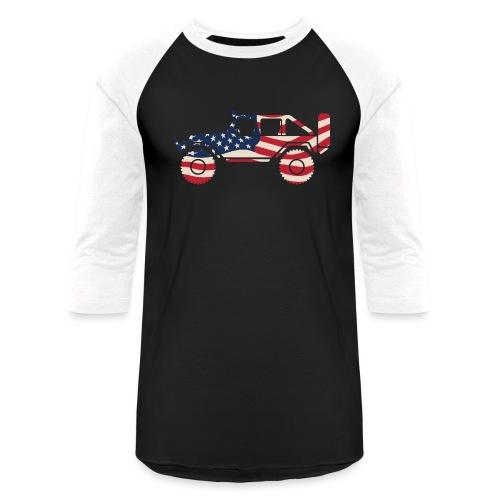 American Patriotic Off Road 4x4 - Baseball T-Shirt