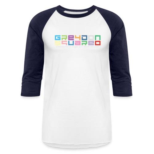 colorfulLOGO2 png - Unisex Baseball T-Shirt