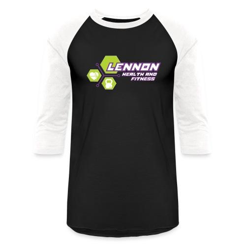 Lennon Health n Fitness Signature range - Unisex Baseball T-Shirt