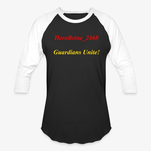 GUARDIANS UNITE - Baseball T-Shirt