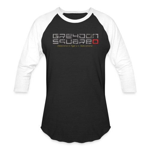 Greydon Square Blue & Gold - Unisex Baseball T-Shirt