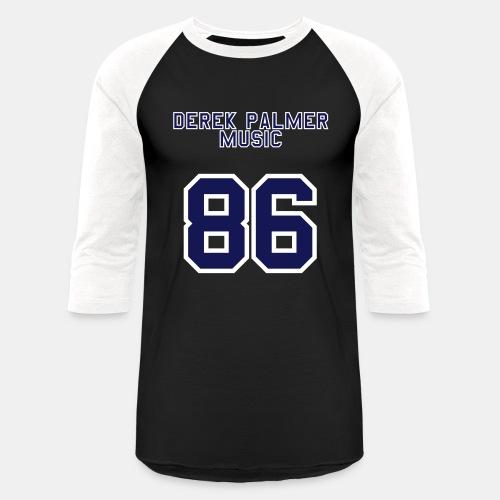 Baseball [Blue,White] - Unisex Baseball T-Shirt