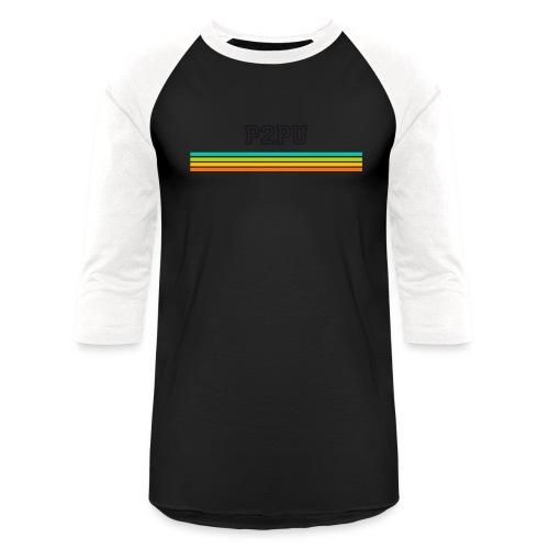 striped mug black logo png - Baseball T-Shirt