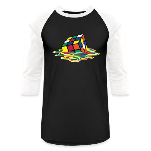 meltingcube - Unisex Baseball T-Shirt