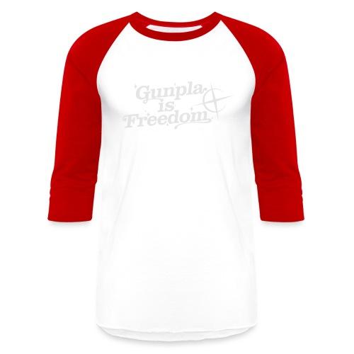 Freedom Men's T-shirt — Banshee Black - Unisex Baseball T-Shirt
