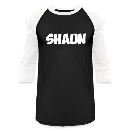 Shaun Logo Shirt - Baseball T-Shirt