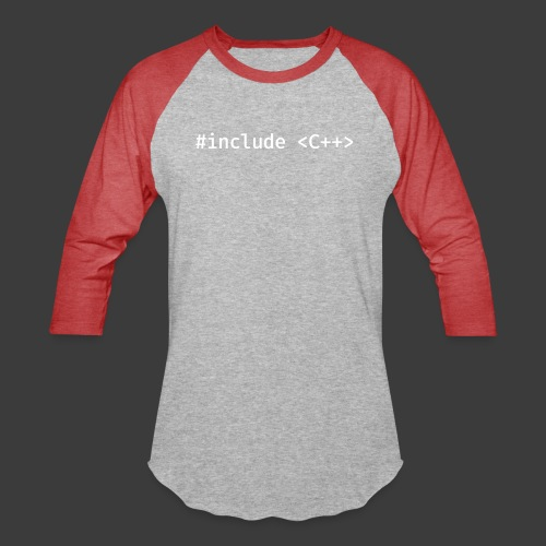 White Include Logo - Baseball T-Shirt