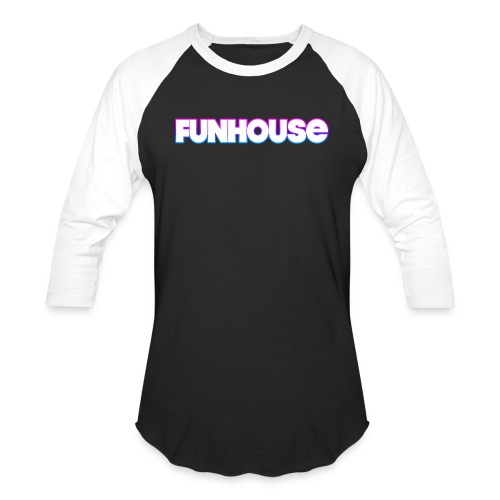 Funhouse Family Logo - Baseball T-Shirt