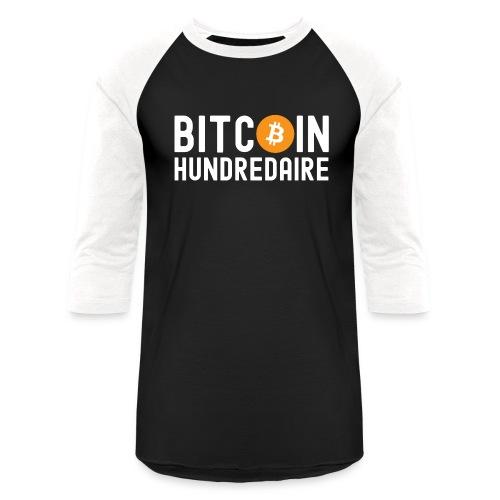 Bitcoin Hundredaire - Bitcoin Symbol - Unisex Baseball T-Shirt