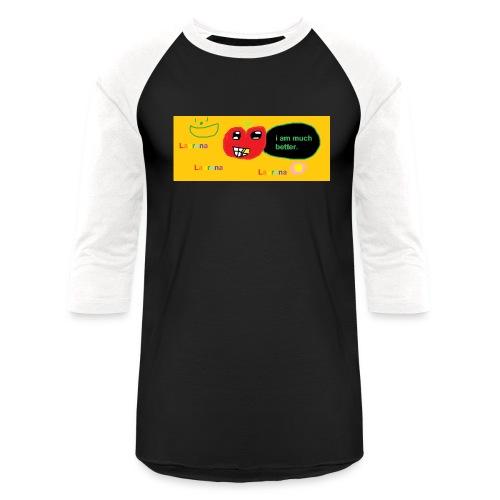 pechy vs apple - Baseball T-Shirt