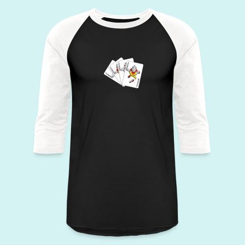Jokers deck - Unisex Baseball T-Shirt