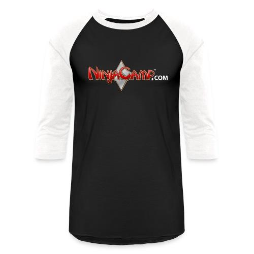 NC Logo for Dark Products - Unisex Baseball T-Shirt