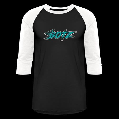 BOTZ Teal Logo - Baseball T-Shirt