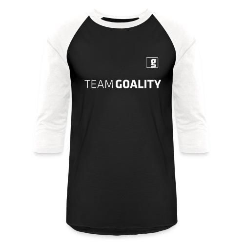 Team Goality T-shirt White Logo - Baseball T-Shirt