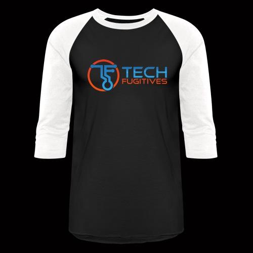Tech Fugitives Logo T's and Gear - Unisex Baseball T-Shirt